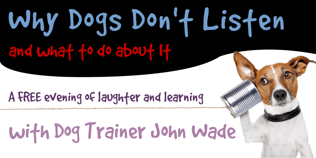 why dogs don't listen